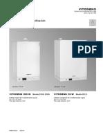Caldera a Gas de Condensación Viessman Vitodens 100-W B1KA- Manual Técnico