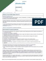 6.F Operational Qualification (OQ)