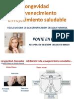Presentacion Lonjevidad Rejuvenecimiento Envejecimiento Saludable Con Productos Herbolarios 03032017