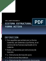 Sistema Estructural de Forma Activa