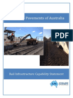 SPA Rail Infrastructure Capability Document - 2015