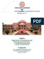 International Conference on Emerging Entrepreneurial Scenario in India Organized by Department of Commerce and Business Administration-min (1)