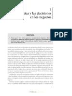 Etica y Las Decisiones en Los Negocios