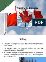 Nursing in Canada