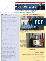 Metcalfe Summer 2010 Newsletter