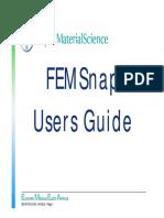 FEMSnapManual En