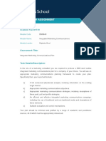 BMM640 Integrated Marketing Communications 2017-18 coursework brief with marking guidance and feedback(1).doc