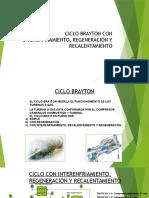 292807175 Ciclo Brayton Con Interenfriamiento Regeneracion y Recalentamiento