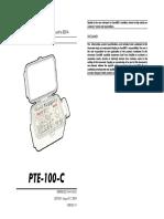 PTE 100 C User's Manual