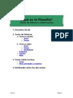 Textos de Deleuze y Adela Cortina y Encuesta Inicial Sin Soluciones