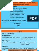 FORMAS DE ESTADO Y DEL GOBIERNO EN LA COMUNIDAD INTERNACIONAL-GRUPO N° 2
