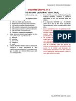 INFORME GRUPAL N° 3 TASAS DE INTERÉS 2017-1