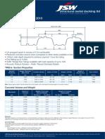 jindal deck sheet Tr80+