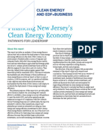 New EDF Report Defines Pathways to Accelerate New Jersey's Clean Energy Economy
