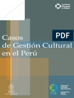 Gest i on Cultural Peru