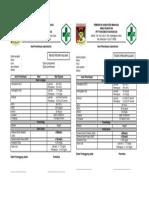 Format Hasil Pemeriksaan Laboratorium