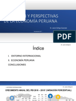 Evolución y Perspectivas de La Economía Peruana (Nov 2017)