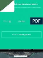 Casos de uso de Datos Abiertos en México