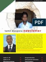 tamil diaspora newsletter - august 2010