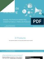 Modulo 2 Unidad Formativa 1 Politica de Producto Parte 1