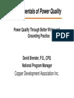 Power Quality CDA AEE 102510