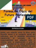 Diapositiva de Etica