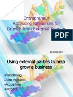 chap14 Accessing Resources for Growth from External Sources by Shepherd Hisrich, Peters.ppt