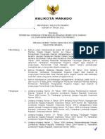 112424033 Peraturan Walikota Manado Tentang Pemberian Tambahan Penghasilan Pegawai