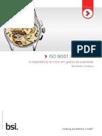 ISO 9001 e o Gerenciamento de Riscos