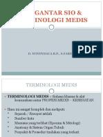 Pengantar Sio & Terminologi Medis