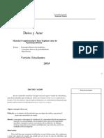 7º Básico-Unidad Nº6-Datos y Azar-Guía Alumno-2014