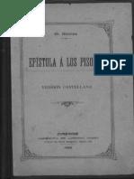 Ars Poética de Horacio Bilingüe