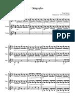 Gargoyles (3 Violins) - Full Score