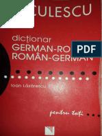 Dictionar Dublu German