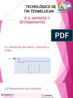 UNIDAD 2. Matrices y Determinantes (1)