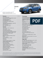 Ficha Forester 2.0i Lineartronic
