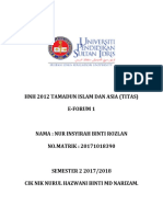 Hnh 2012 Tamadun Islam Dan Asia Nur Insyirah 20121018390