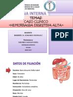 Hemorragia Digestiva Alta y Baja