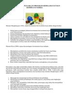 Tujuan Penyelenggaraan Program K3