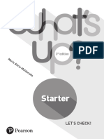 What's Up Starter Tests 3rd Edition