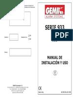 933-Utente Ed Installatore Ac2784e-Rev.06 u I-e