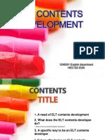 elt development