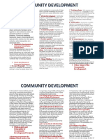 DEFINE & AIMS& OBJECTIVE OF COMMUNITY DEVELOPMENT