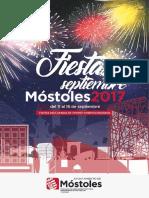 Revista Mostoles Fiestas Septiembre 2017 Baja