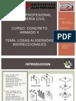 Exposicion Losa Aligerada Bidireccional Concreto Armado 2 (1)