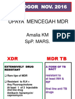 UPAYA MENCEGAH TB MDR