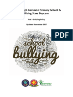 Anti Bullying Policy Sept 17