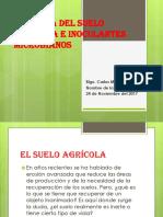 Inoculantes Microbianos y Ecologia Del Suelo Agricola