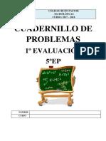 Problemas 5ep Primer Trimestre