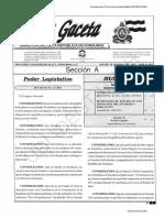 Decreto 21-2011 Honduras elimina la Ley del Estado de Sitio